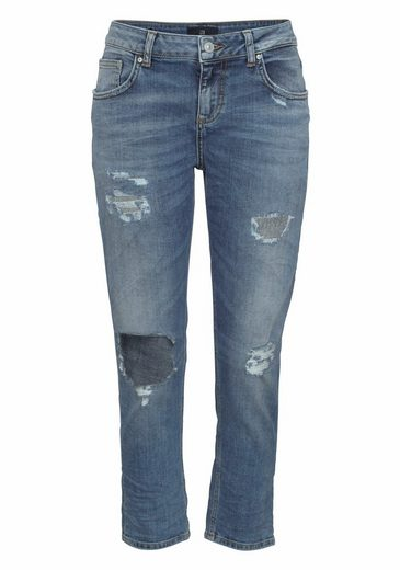 LTB Boyfriend-Jeans MIKA, mit Destroyed-Effekten