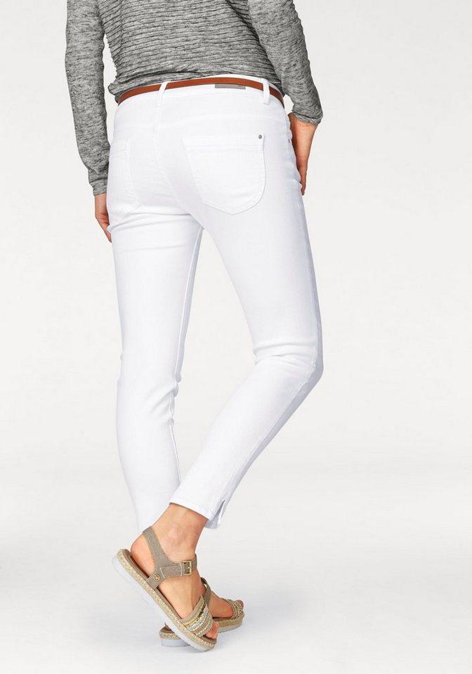 s.Oliver RED LABEL 5-Pocket-Jeans Ankle Shape in white-denim