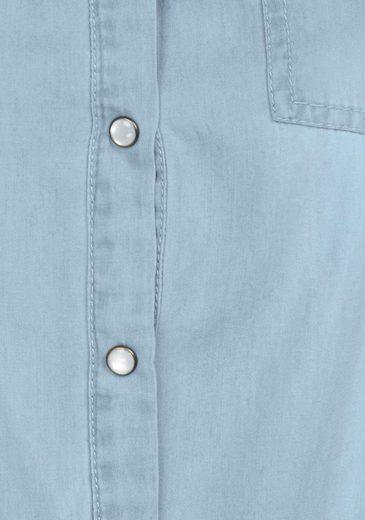 Pepe Jeans Jeanskleid LULUS, im Ethno-Design