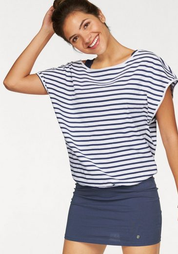 AJC Jerseykleid (Set, 2-tlg., mit T-Shirt) im Streifen-Look aus Jersey