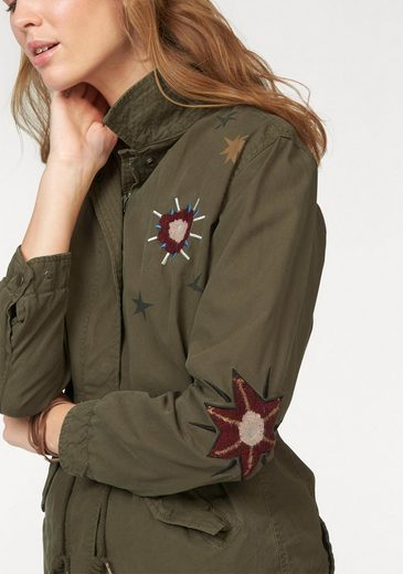 Scotch & Soda Military-Jacke, im Army-Look