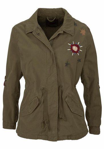 Scotch & Soda Military-Jacke, im Army-Look
