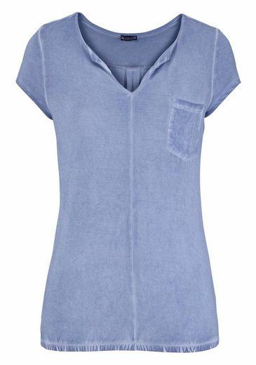Laura Scott T-Shirt, mit elastischem Bund