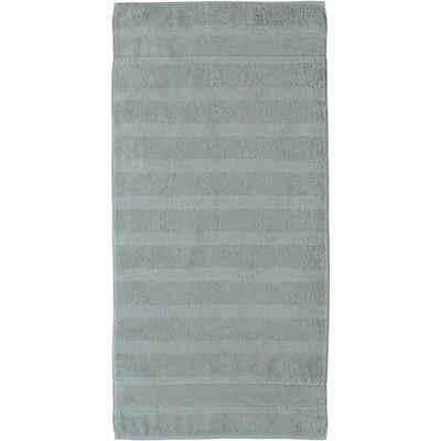 Cawö Handtücher »Noblesse2 Uni 1002«, Velours-Streifen
