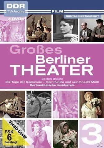 DVD »Großes Berliner Theater, Vol. 3 - Bertolt...«