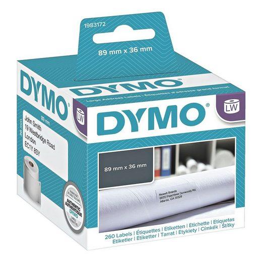 DYMO LabelWriter Papier-Etiketten 36 x 89 mm »1983172«