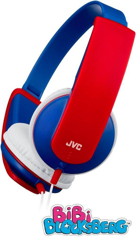 JVC BiBi BLOCKSBERG - Kinderkopfhörer »HA-KD5« in blau