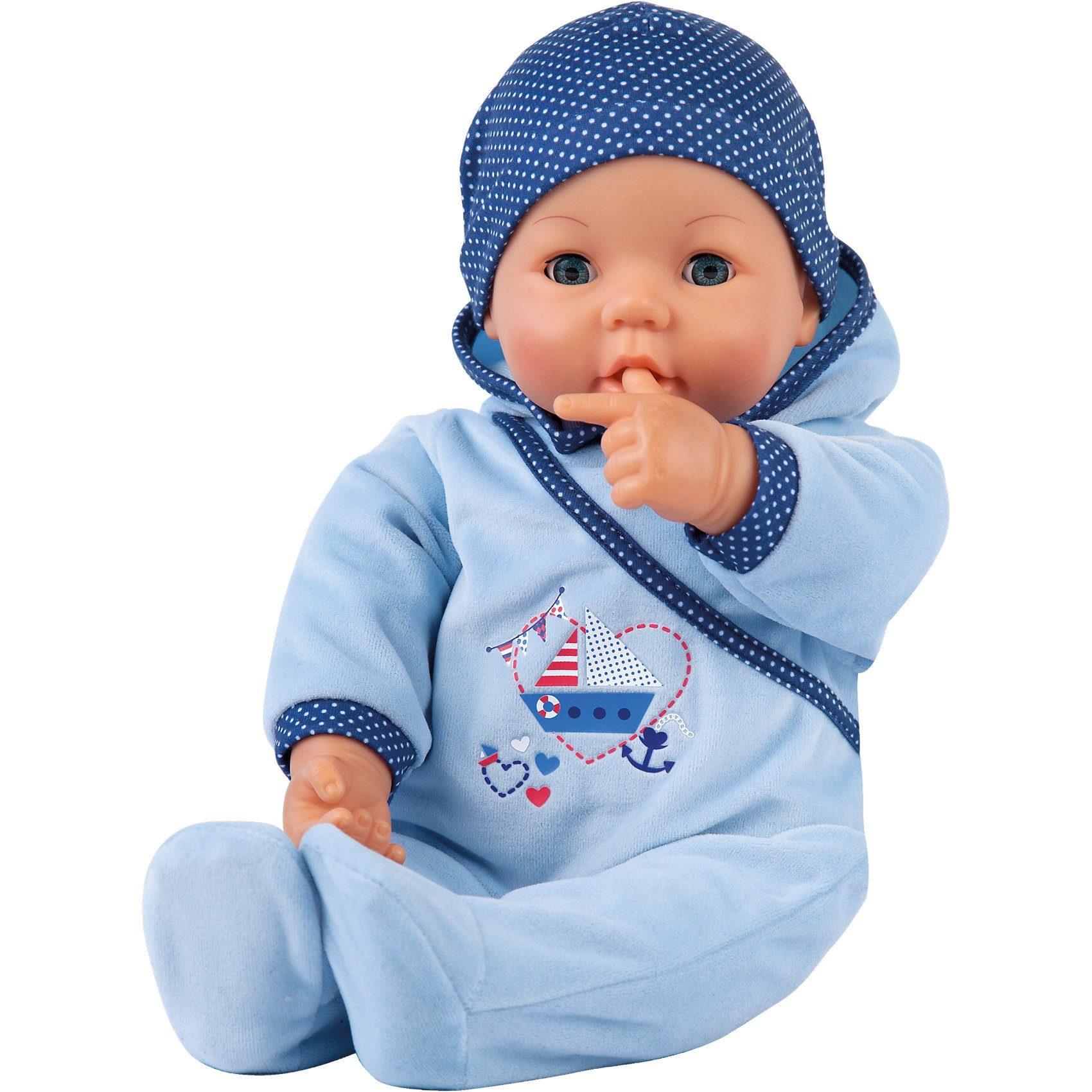 Bayer Babypuppe Hello Baby Boy, 46 cm
