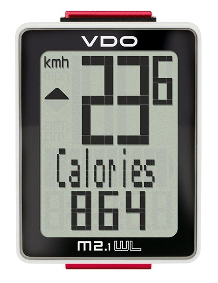 VDO Fahrradcomputer »M2.1 WL Fahrradcomputer«