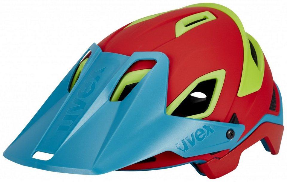 UVEX Fahrradhelm »jakkyl Helm« in rot
