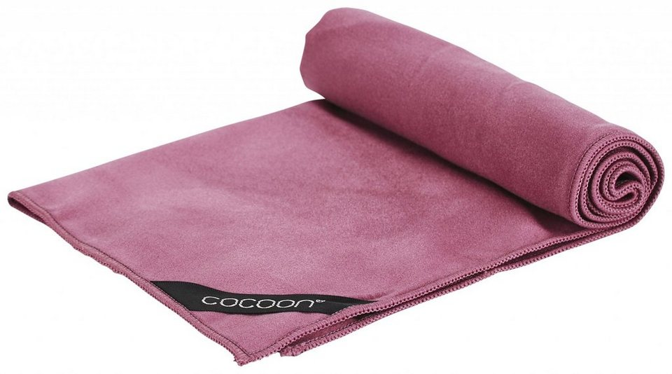 Cocoon Reisehandtuch »Microfiber Towel Ultralight Small« in rot