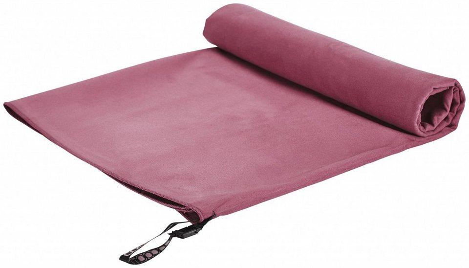 Cocoon Reisehandtuch »Microfiber Towel Ultralight Large« in rot