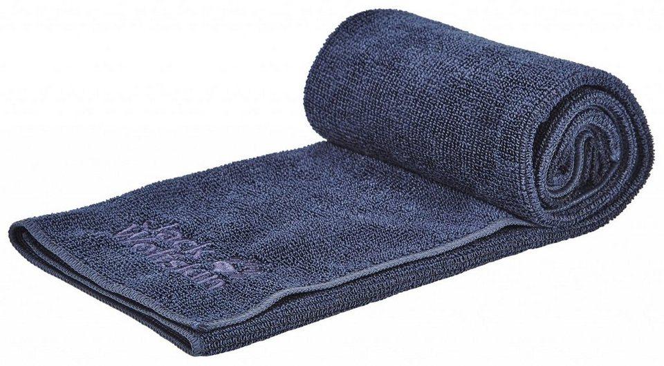 Jack Wolfskin Reisehandtuch »Wolftowel Terry XL Towel« in blau