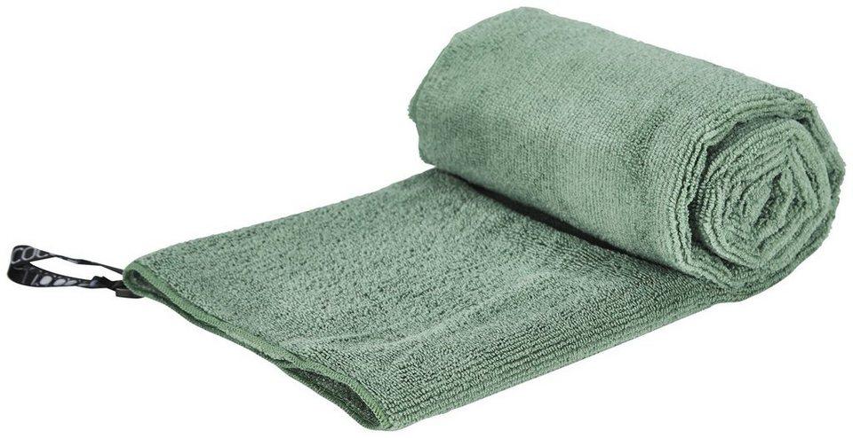 Cocoon Reisehandtuch »Microfiber Terry Towel Light Medium« in grün