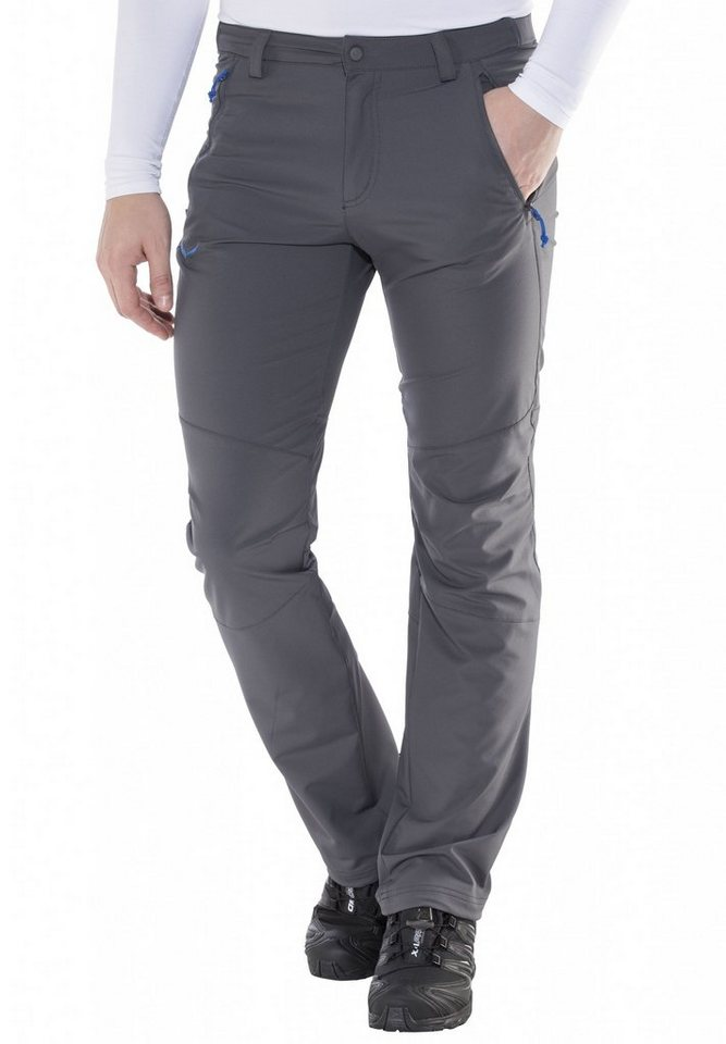 Salewa Outdoorhose »Puez Terminal DST Regular Pant Men« in grau
