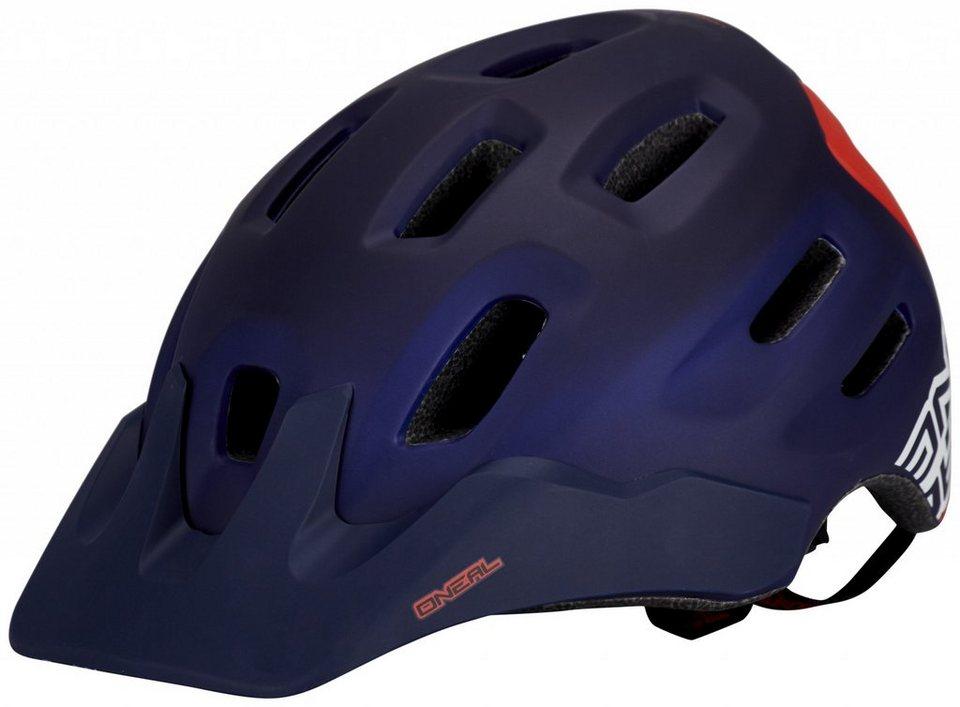 O'NEAL Fahrradhelm »Defender Flat Helmet« in blau