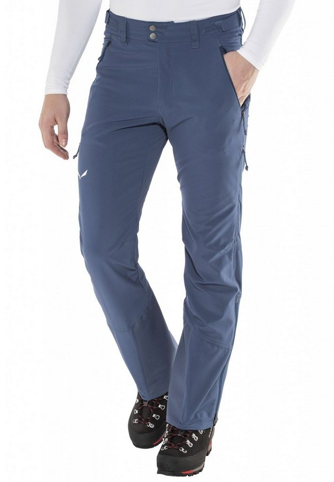 Salewa Outdoorhose »Sesvenna Freak DST Pant Men« in blau