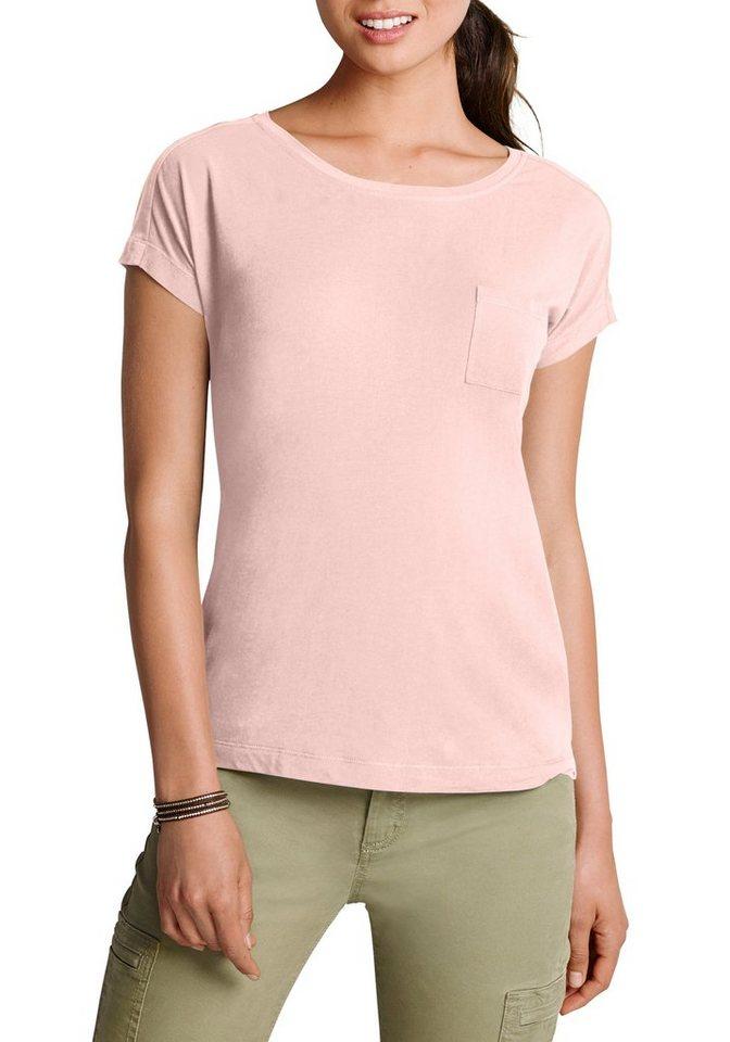 Eddie Bauer T-Shirt in Helles Rosé