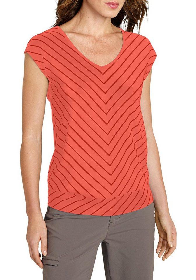 Eddie Bauer Travex® T-Shirt in Koralle