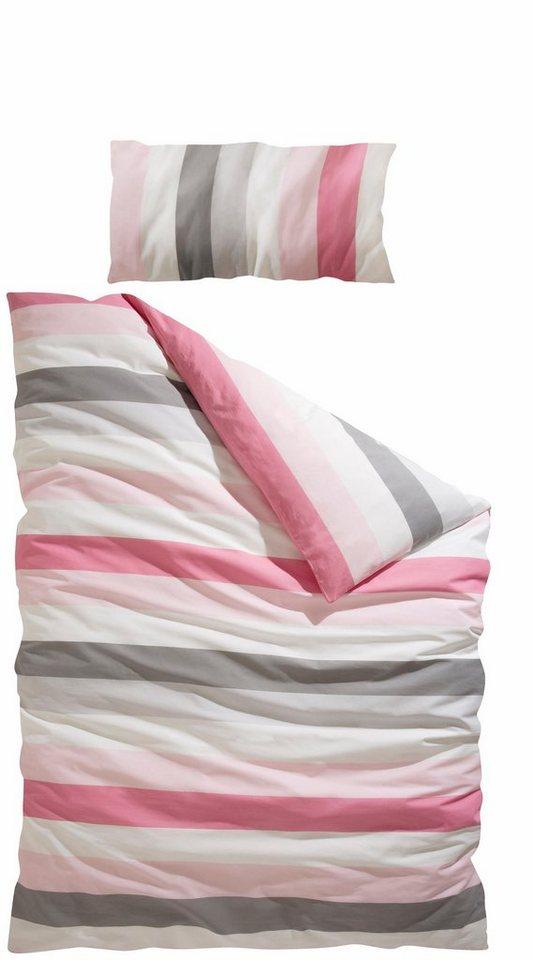 bettw sche my home senza mit modernen linien otto. Black Bedroom Furniture Sets. Home Design Ideas