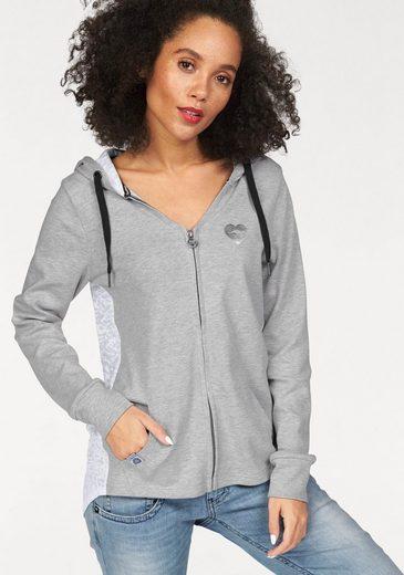 Kangaroos Hooded Sweat Jacket, Back In Printed Shirt Ware