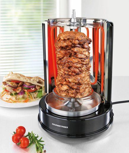 gourmetmaxx d nergrill f r bis zu 4 kg fleisch 1400 w. Black Bedroom Furniture Sets. Home Design Ideas