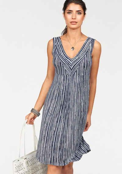 3ef933cd89c Boysen s Jerseykleid im figurschmeichendem Streifen-Design