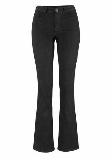 Arizona Bootcut-Jeans Baby-Bootcut, Mid Waist