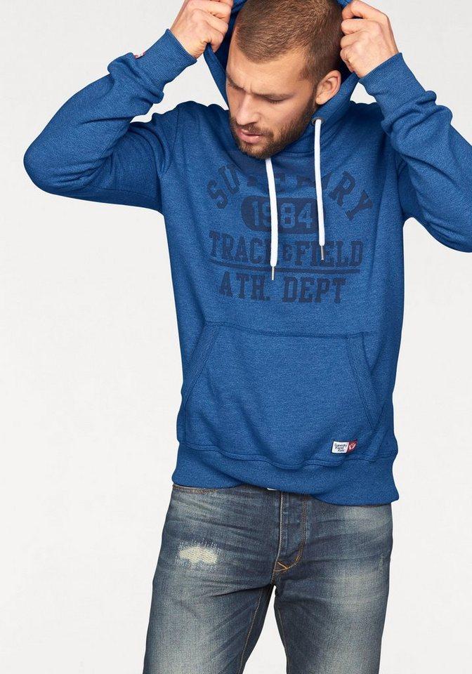 Superdry Kapuzensweatshirt »TRACKSTER VINTAGE HOOD« in royalblau