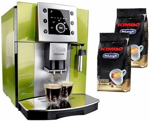 De'Longhi Kaffeevollautomat Perfecta ESAM 5400.G, leises Kegelmahlwerk