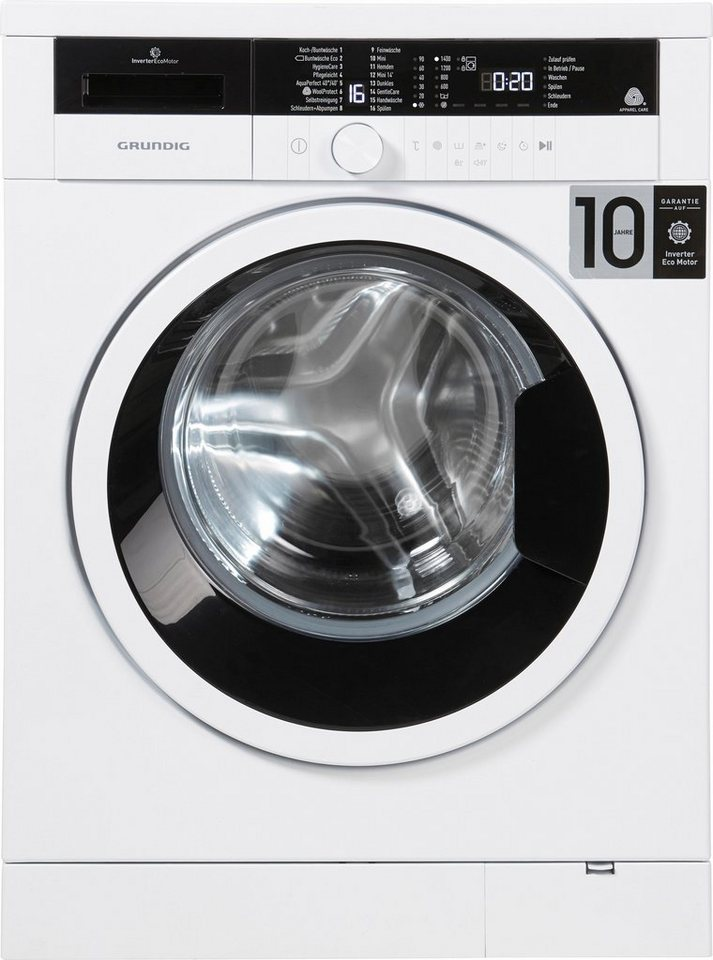 grundig waschmaschine gwo 37430 wb 7 kg 1400 u min. Black Bedroom Furniture Sets. Home Design Ideas