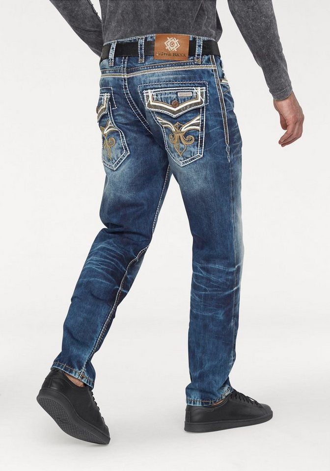 Cipo & Baxx Loose-fit-Jeans »OCD 104« in blue-stone