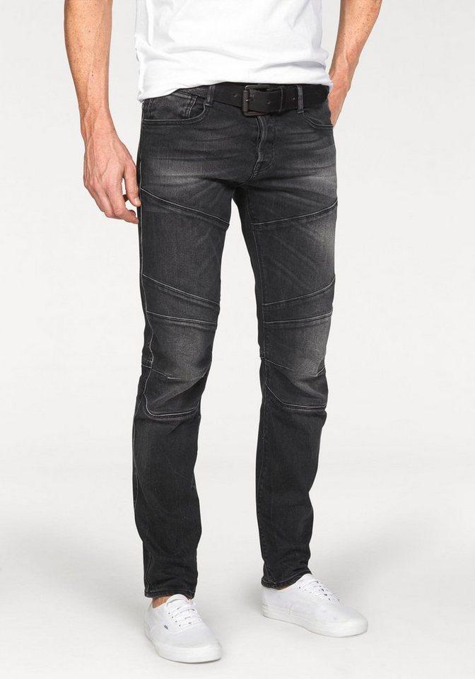 Jack & Jones Slim-fit-Jeans »Glenn« in black-used