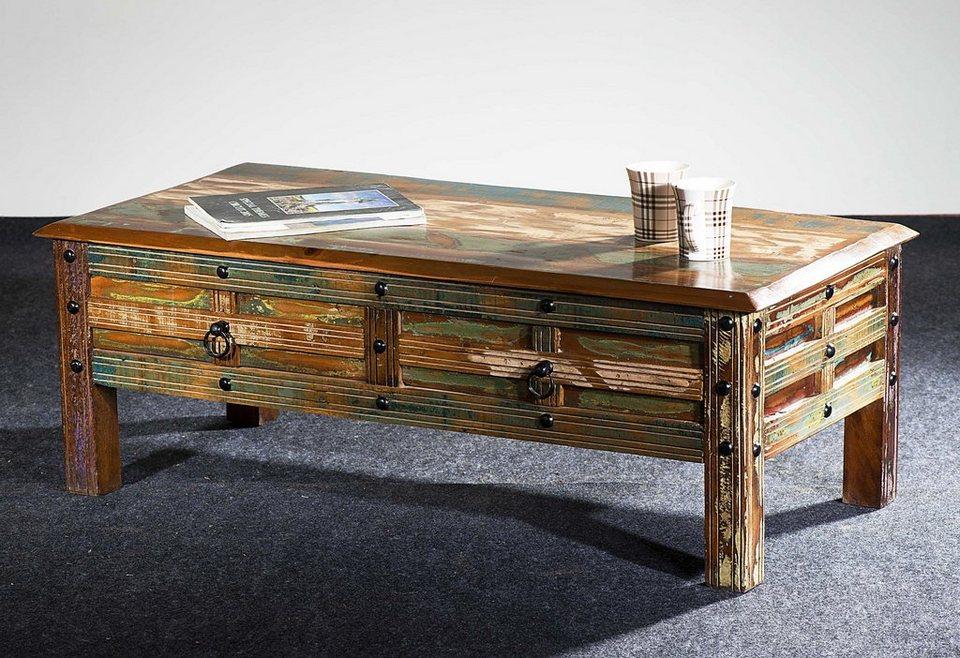 the wood times couchtisch delhi breite 115 cm otto. Black Bedroom Furniture Sets. Home Design Ideas