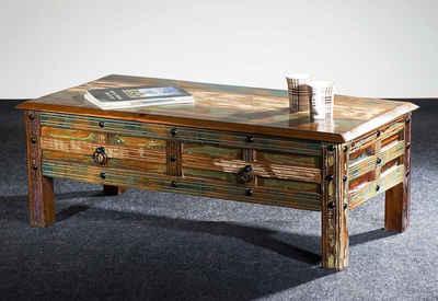 Couchtisch Aus Holz Massivholz Online Kaufen Otto