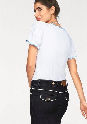 Boysen's Trachtenshirt, in Blusenoptik perfekt für die Wiesn'