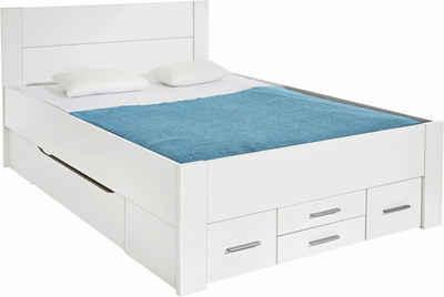 Bett weiß 160x200  Bett 160x200 cm kaufen » Bettgestell & Doppelbett | OTTO