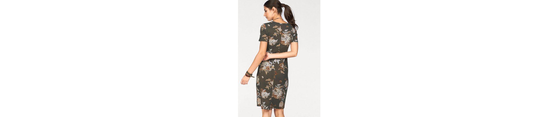 Boysen's Jerseykleid, mit Blumendruck