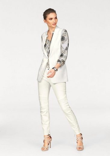 Laura Scott Print-Shirt, mit Glitzerdetails