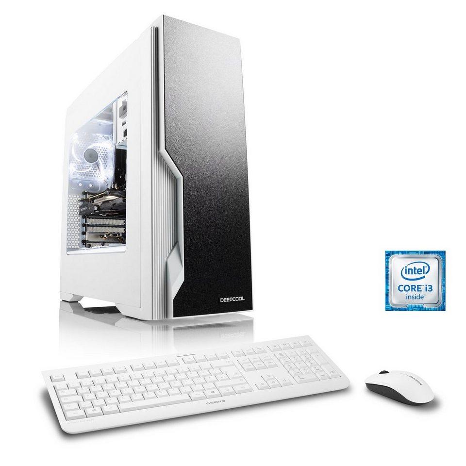 CSL Gaming PC | Core i3-6100 | GeForce GTX 1050 Ti | 8 GB DDR4 RAM »Levitas T5480 Windows 10«