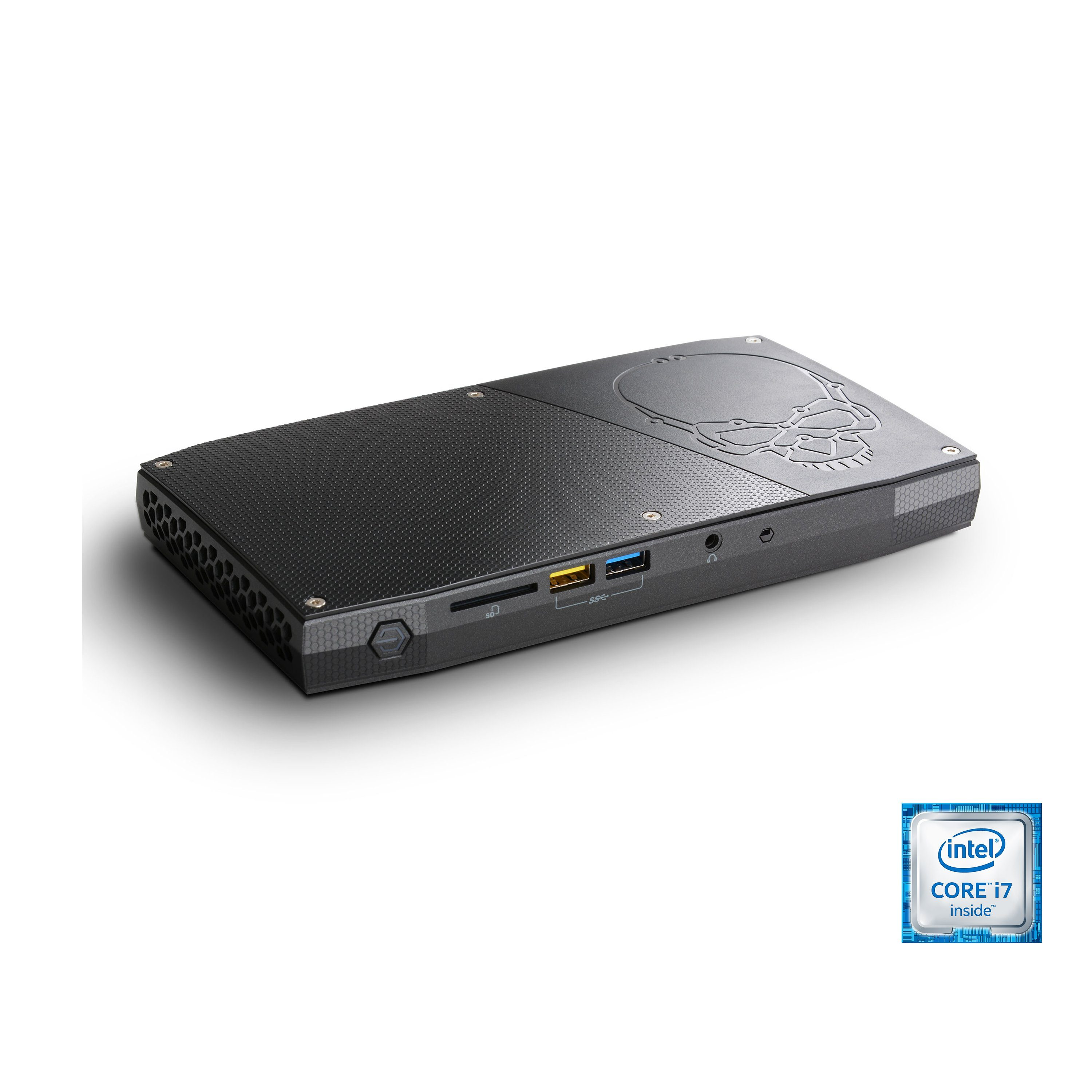 CSL Mini PC | Core i7-6770HQ | Intel HD 580 | 8GB DDR4 | SSD »Intel NUC Core i7-6770HQ Windows 10«