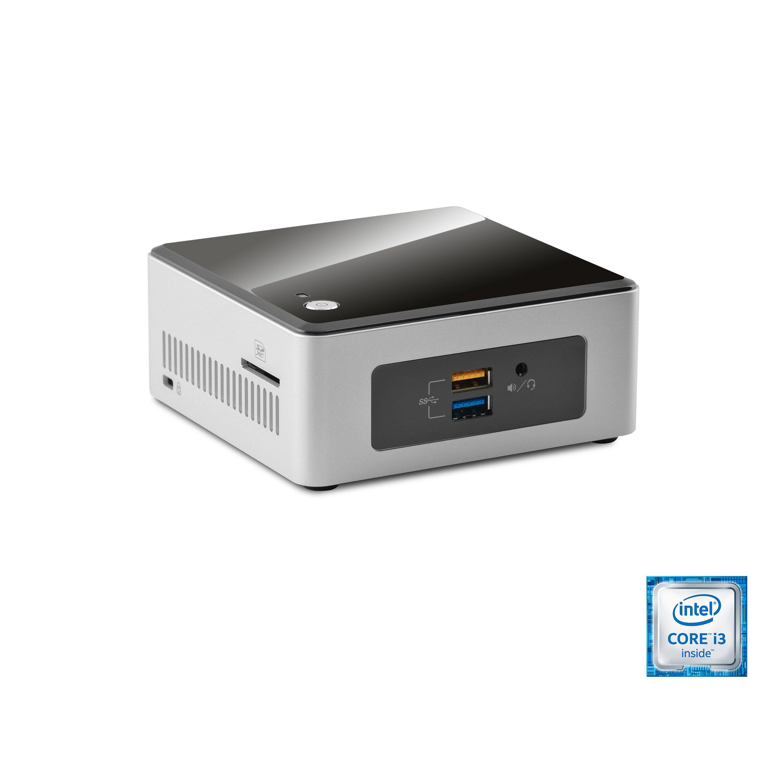 CSL Mini PC | Core i3-6100U | Intel HD 520 | 8 GB DDR4 | 240GB SSD »Intel NUC i3-6100U Windows 10«