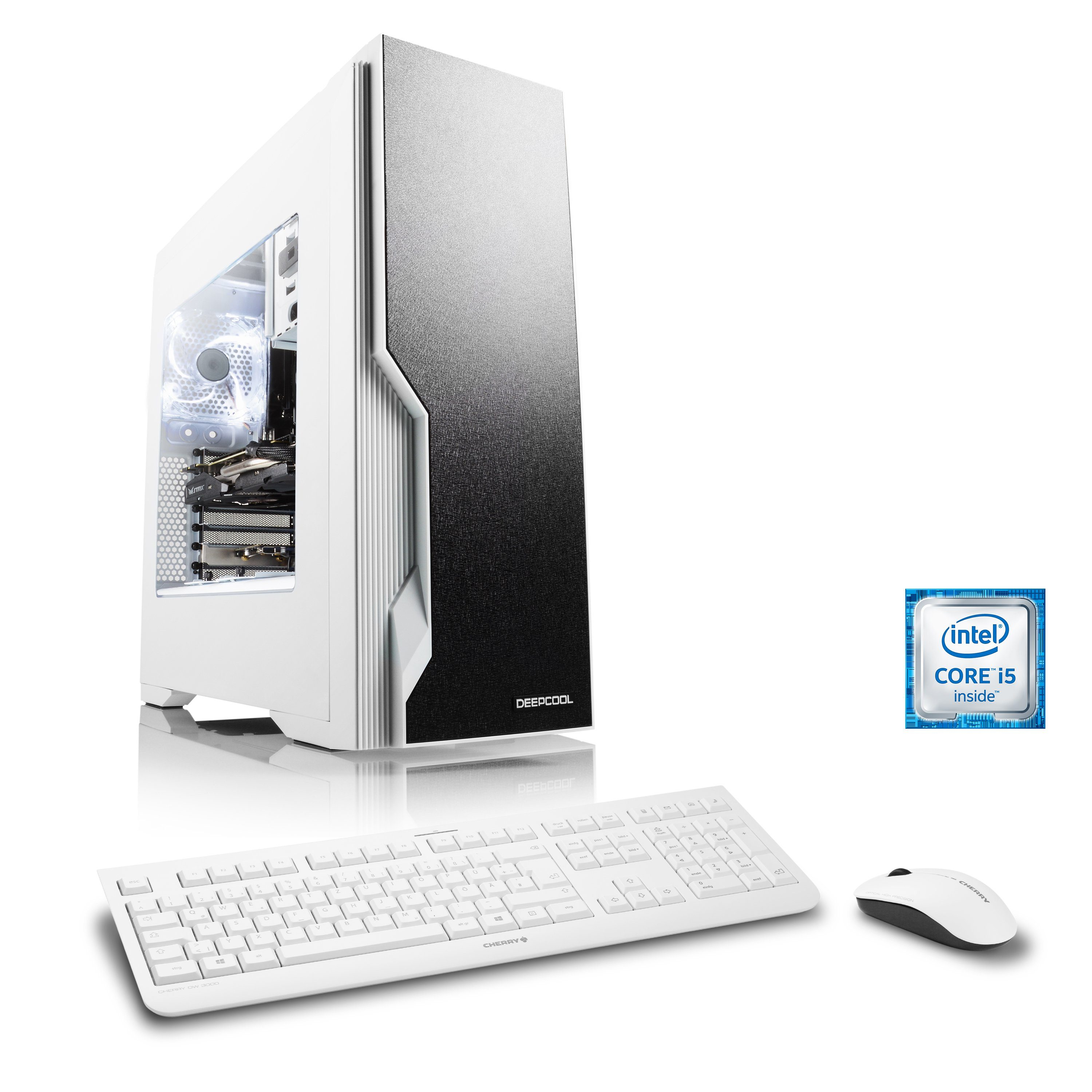 CSL Gaming PC | Core i5-6600 | Radeon RX 470 | 16 GB DDR4 RAM | SSD »Speed T5698 Windows 10 Home«