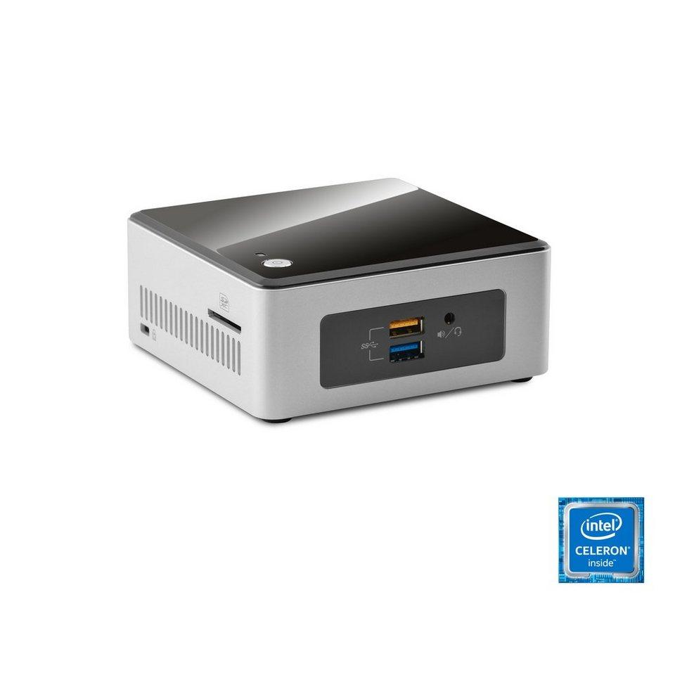 CSL Mini PC | Celeron N3050 | Intel HD | 4 GB RAM | SSD »Intel NUC Celeron N3050-2 Windows 10« in schwarz
