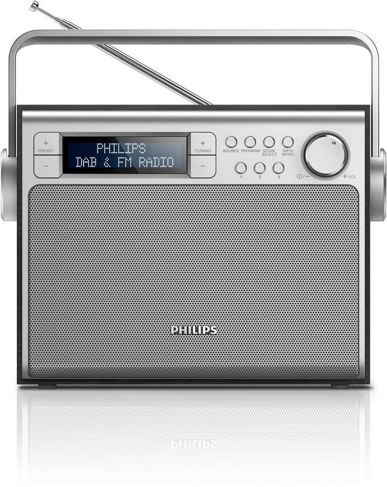 philips dab radio ae5020 12 online kaufen otto. Black Bedroom Furniture Sets. Home Design Ideas