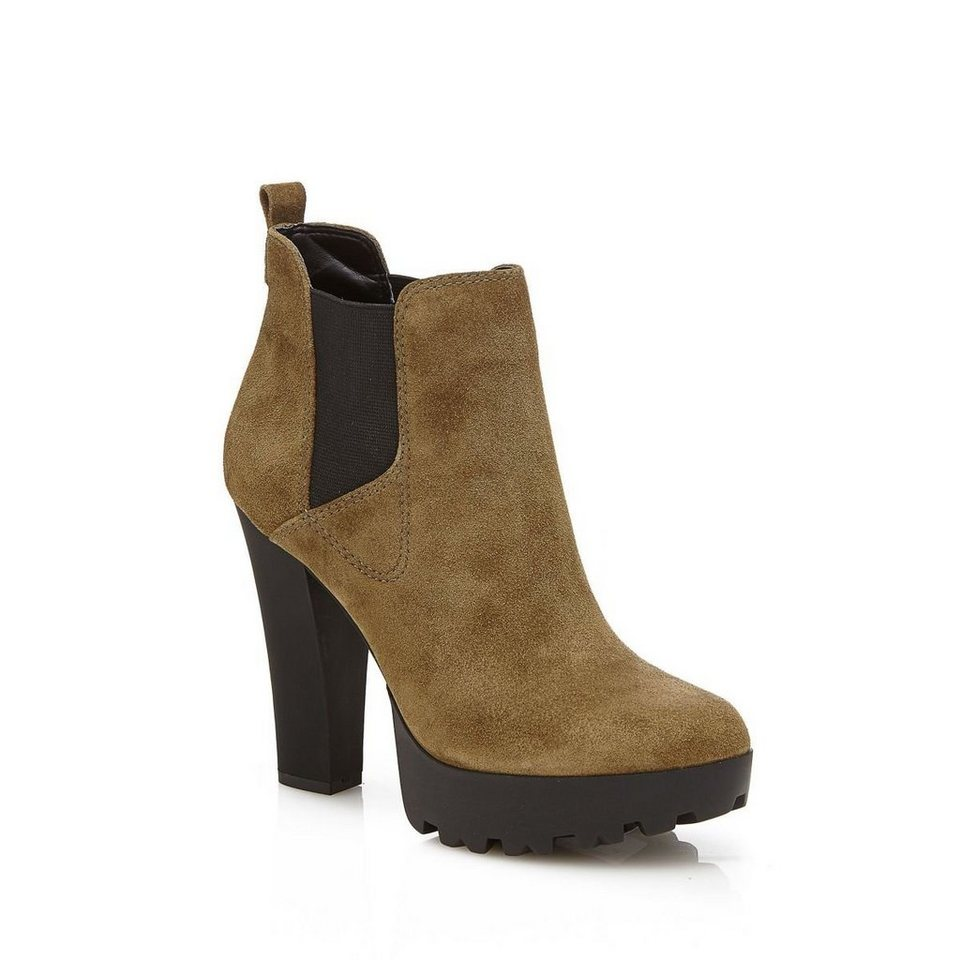 Guess ANKLE BOOT CLANI VELOURSLEDER in Grün