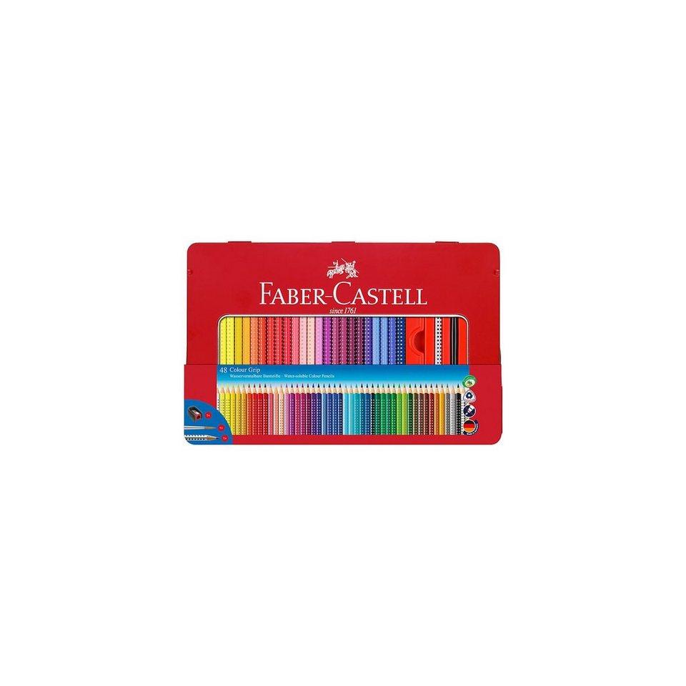 faber castell colour grip buntstifte wasservermalbar 48 farben zubeh r online kaufen otto. Black Bedroom Furniture Sets. Home Design Ideas