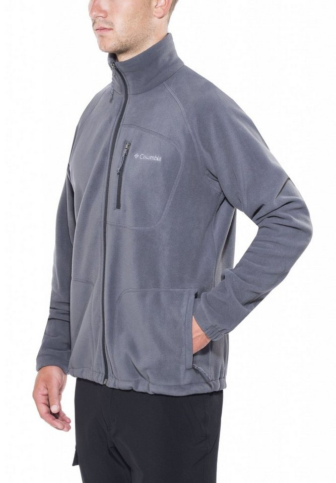 Columbia Pullover »Fast Trek II Full Zip Fleece Men« in grau