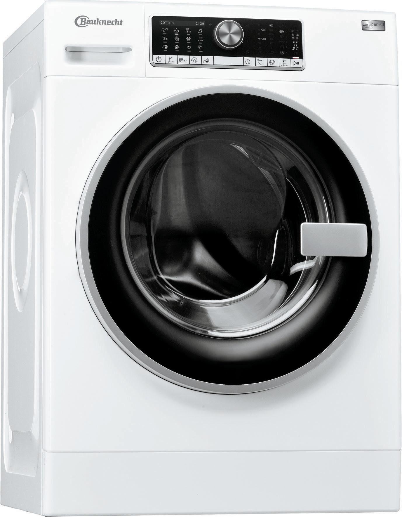 BAUKNECHT Waschmaschine WM Trend924ZEN, 9 kg, 1400 U/Min