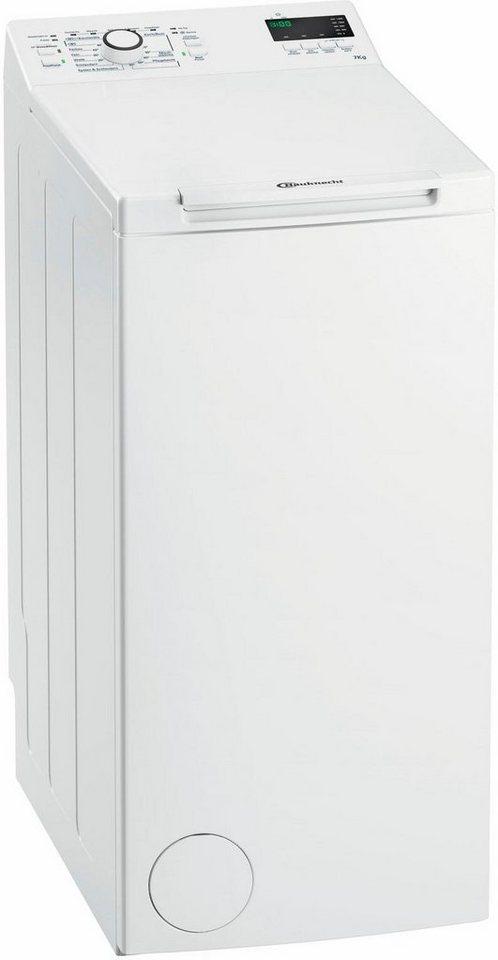 Kleine Waschmaschinen Toplader bauknecht waschmaschine toplader wmt ecostar 732 di 7 kg 1200 u